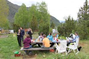 Grillfest i Nilstræet