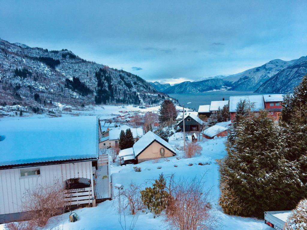 Vinteridyll på Røysaleite
